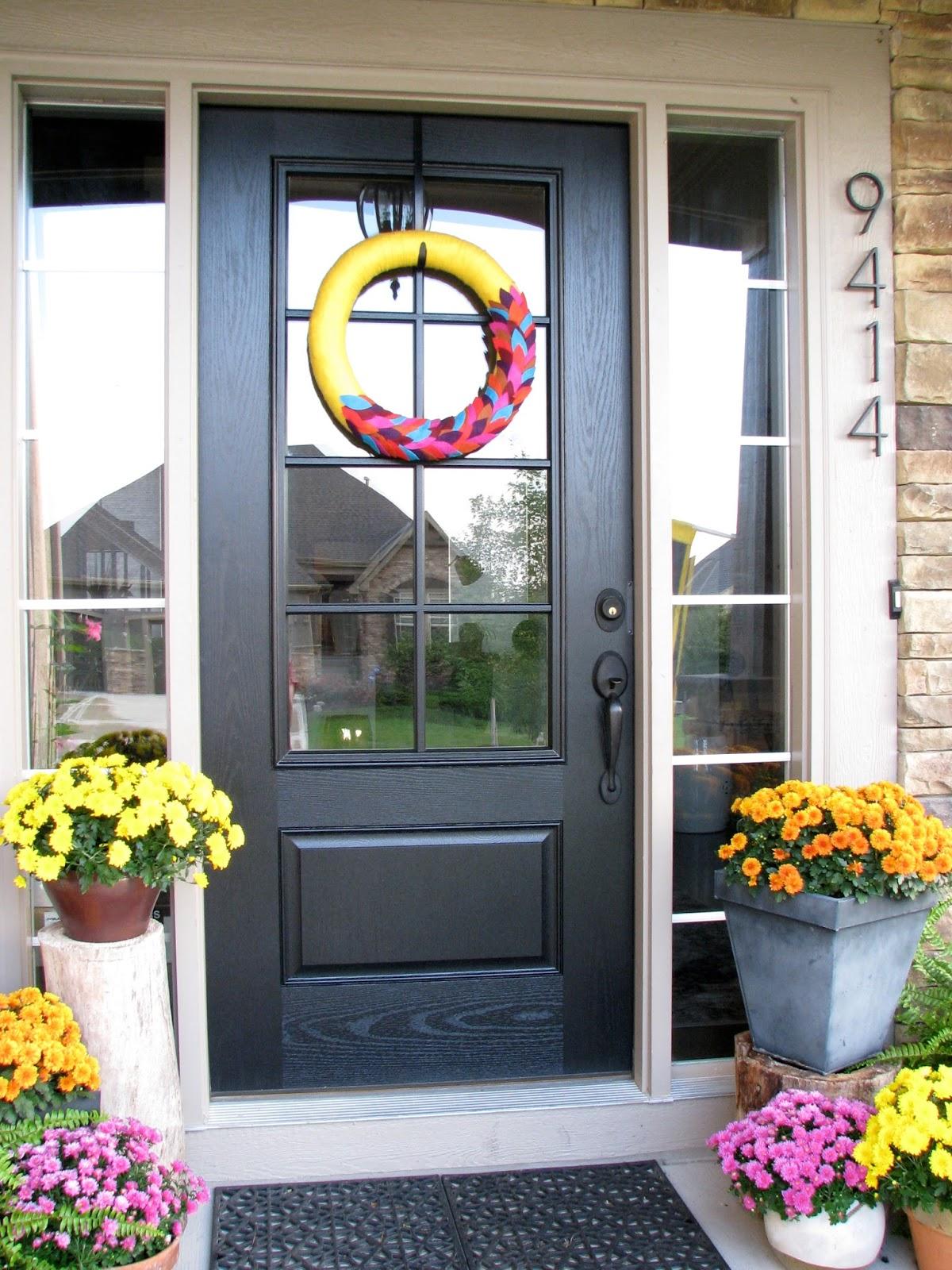 Gl Panel Front Door Life Love Larson