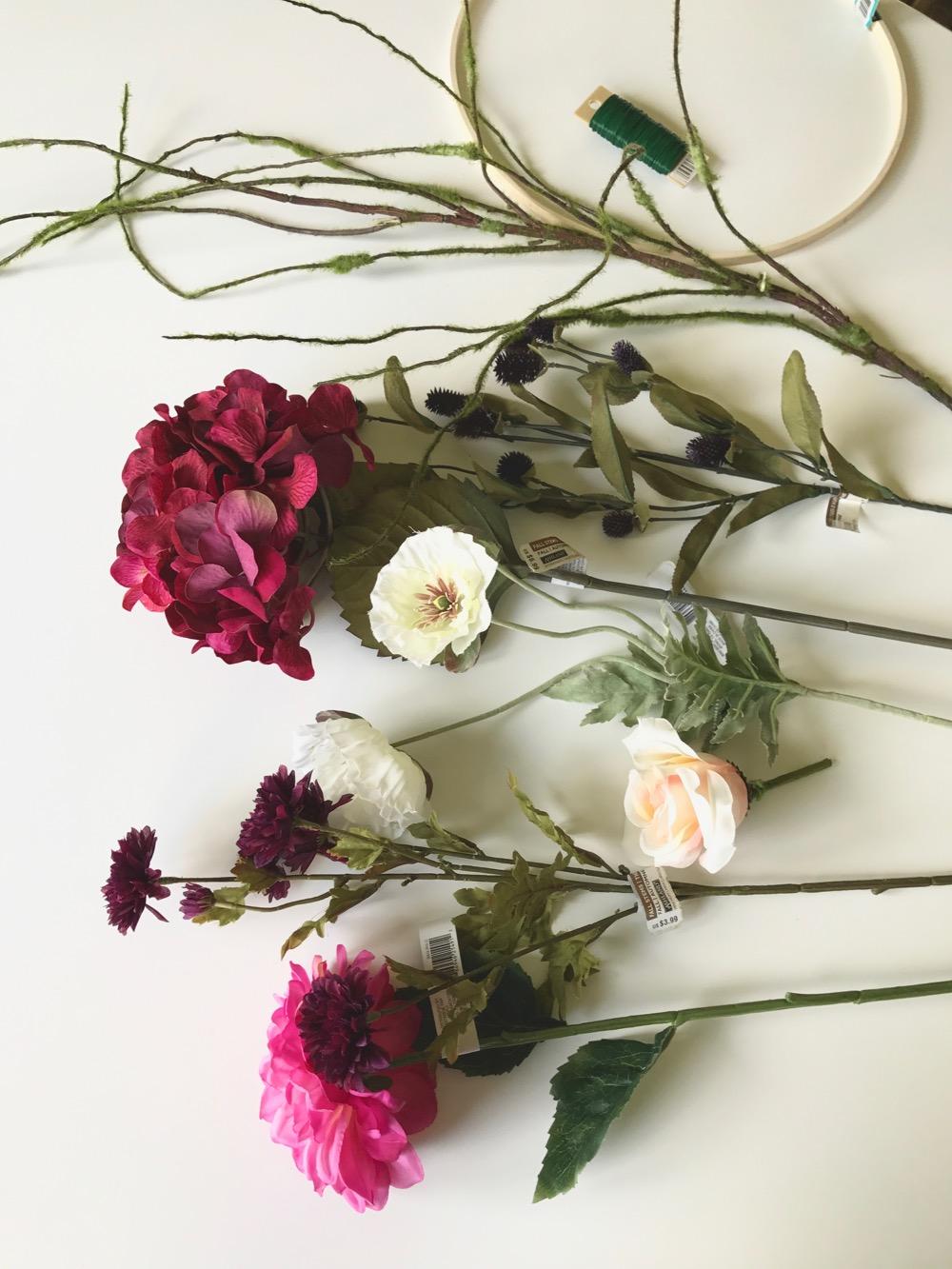 DIY Modern Fall Wreath - Life Love Larson