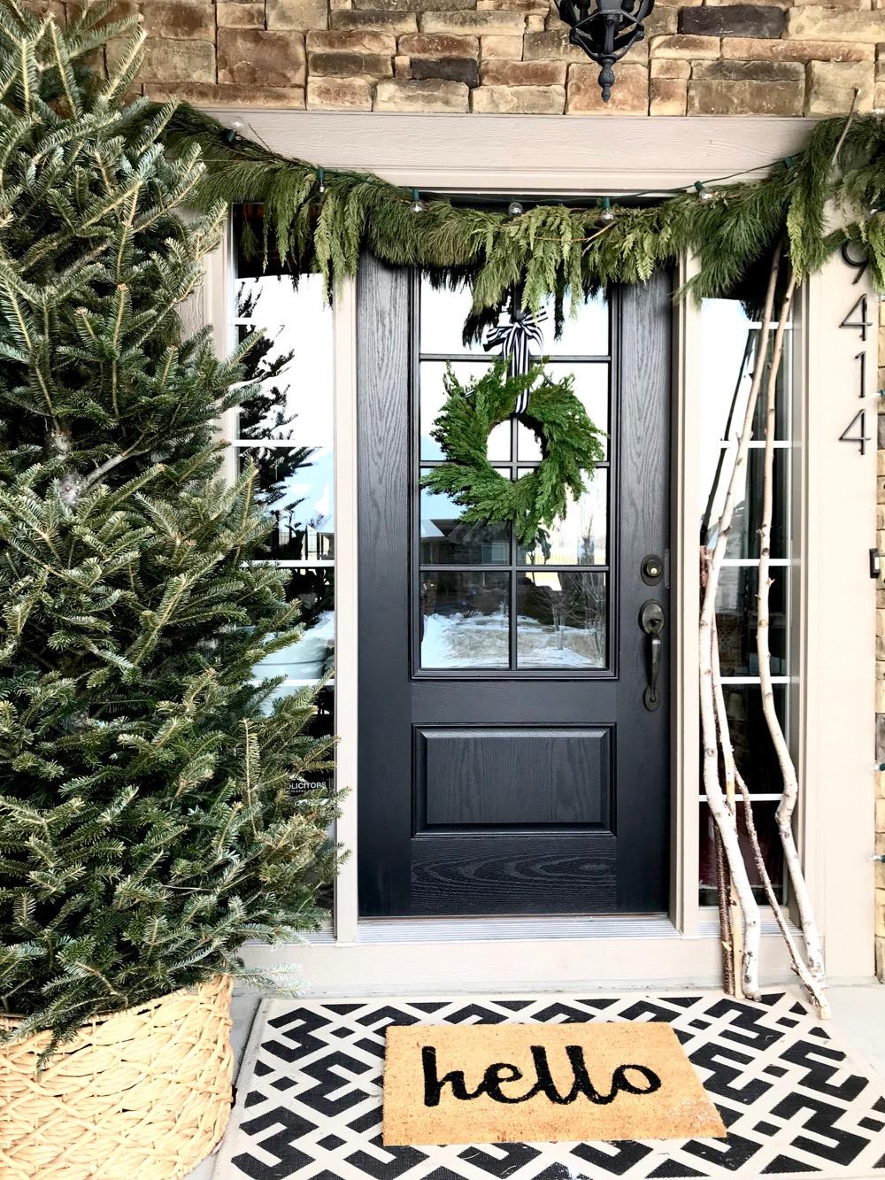 Winter Front Porch Decor - Life Love Larson