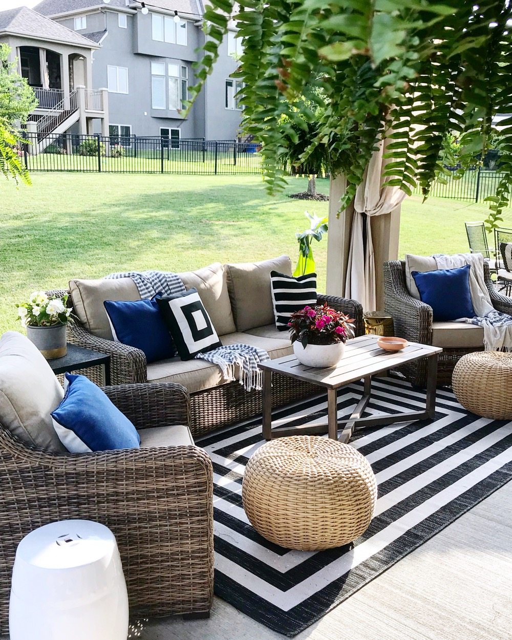 Walmart Outdoor Furniture Set Review Life Love Larson