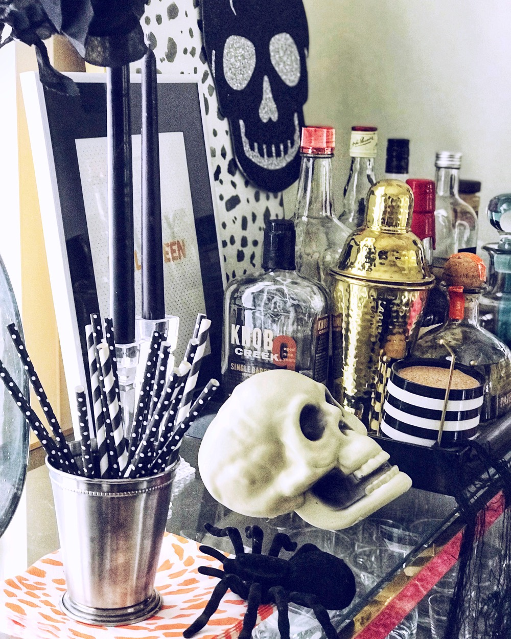 Halloween Bar Cart Life Love Larson